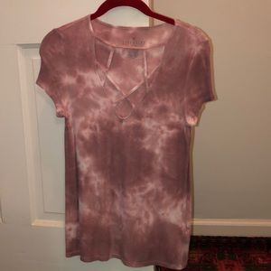 American Eagle Soft and Sexy Cut Out T-shirt